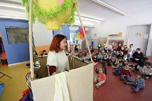 'A la voreta dels núvols', activitat de la Regidoria d'Educació per als infants de les escoles bressol municipals