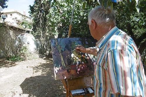 Amics de Santiga organitza el XXIX Concurs de Pintura de Santiga