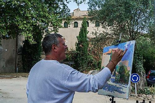 Amics de Santiga ha suspès el Concurs de Pintura Ràpida