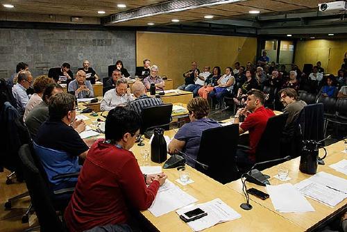 El Ple aprova per unanimitat el Pla director de Cooperació i Solidaritat 2018-2022