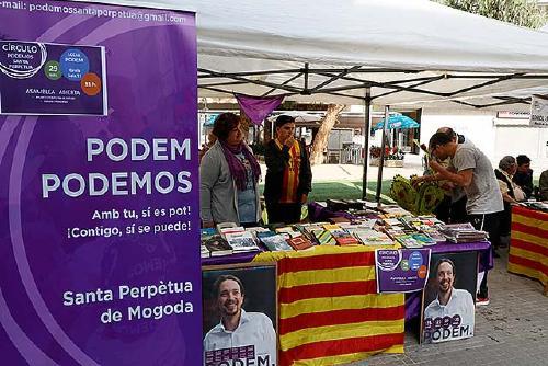 Es reactiva el Cercle de Podemos amb nova seu al carrer de Genís Sala