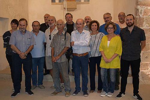 Mercè Humedas guanya el premi del jurat popular del concurs de pintura d'Amics de Santiga