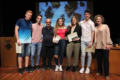 Cinc estudiants de Batxillerat, premiats pels seus treballs de recerca