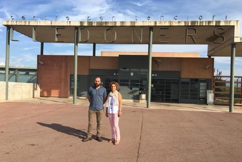 L'alcaldessa i el regidor de Cultura visiten Jordi Cuixart a la presó de Lledoners