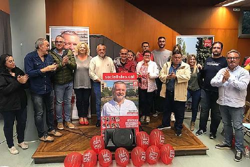 Pere García (PSC) agraeix la confiança de la ciutadania en el projecte socialista