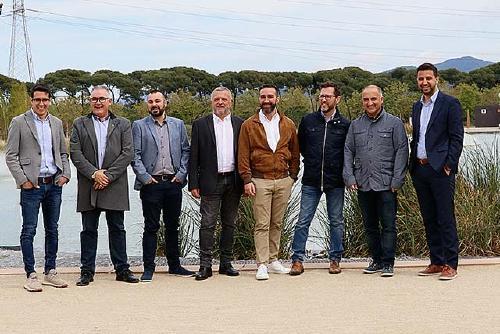 El número 2 del PSC per Barcelona, Francisco Polo, manté a Santa Perpètua una trobada amb alcaldables
