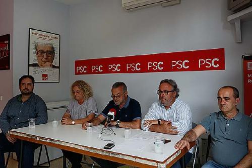 El PSC escull Pere Garcia cap de llista per a les properes eleccions municipals