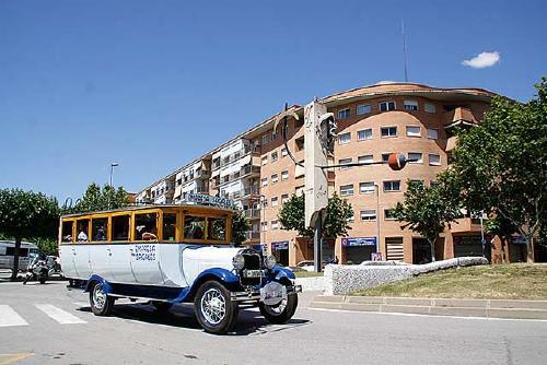 El 9è Ral·li d'Autobusos Clàssics passa aquest diumenge per Santa Perpètua