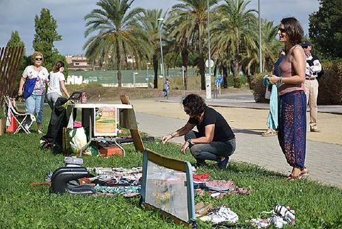 El parc d'Europa acull la primera edició de la Festa del Reciclatge