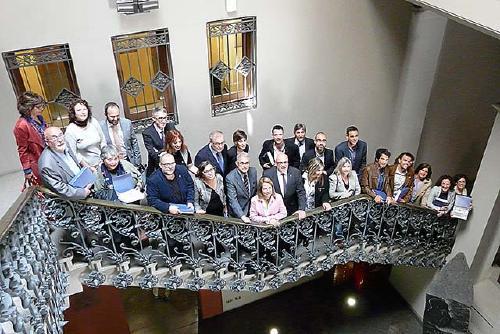 L'Ajuntament de Santa Perpètua rep un reconeixement per ser pioner en la implantació de la Finestreta Única Empresarial