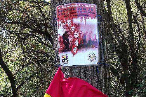 Republicanos va homenatjar els afusellats i les víctimes del franquisme