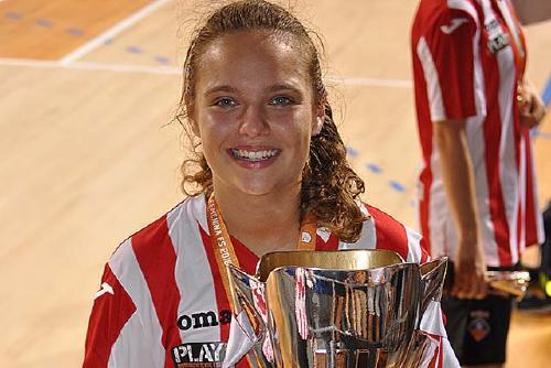 Iris Amaro, eliminada en els quarts de final de la Copa de la Reina de futbol sala femení