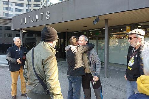 Detingut un militant de la CUP per no presentar-se al jutjat en el cas de la seguda davant el TSJC