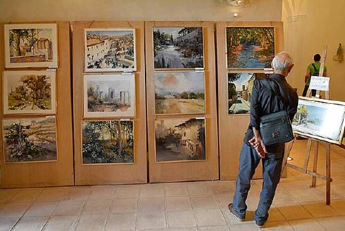 Amics de Santiga organitza del 24 al 26 d'agost el XXVIII Concurs de pintura