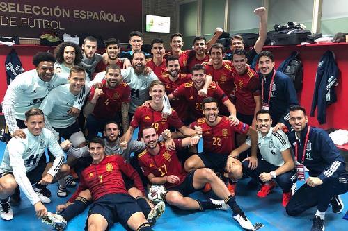 Gerard Moreno participa en la victòria històrica d'Espanya contra Alemanya (6-0)