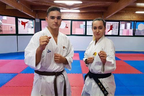 Els germans Molina (Senshi Dojo) participen aquest cap de setmana en el Campionat d'Espanya