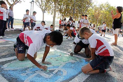 Més de 300 escolars participen en les activitats de la programació de la Setmana de la Mobilitat