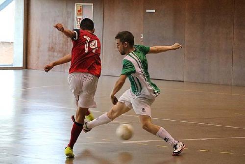 El primer equip de l'Sport Sala arrenca l'any amb un empat a la pista de l'Atlètic Masnou