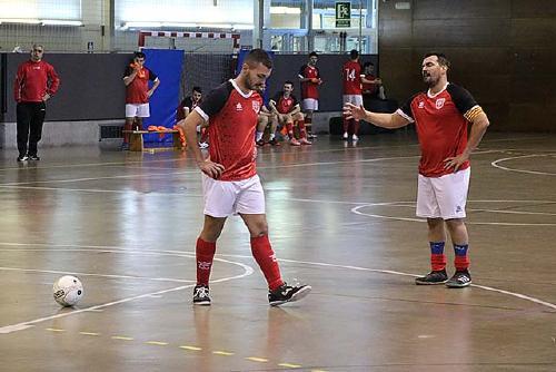 L'Sport Sala empata a dos gols contra l'Atlètic Català