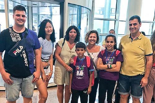 Dos infants sahrauís passen l'estiu a Santa Perpètua a través del programa Vacances en Pau