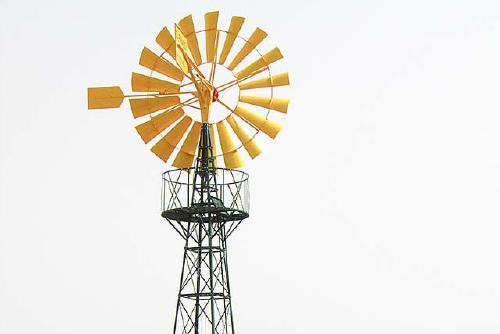 SPSolidària instal·la molins de vent als horts de cooperatives de dones