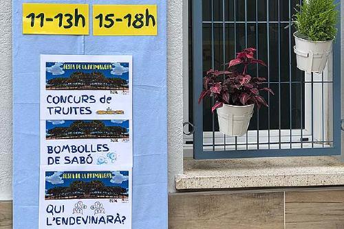 L'AMPA de l'Escola Tabor organitza per primer cop la Festa de la Primavera al bosc de Ca n'Oller