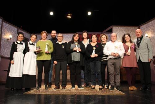 Guspira Teatre, amb l'obra 'Mentiders', guanya el Premi Espectador de la Mostra de Teatre de Tàndem