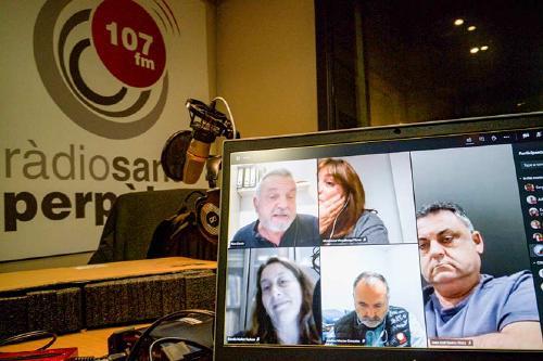 Els grups municipals fan una crida a anar a votar el 14 de febrer a les eleccions al Parlament