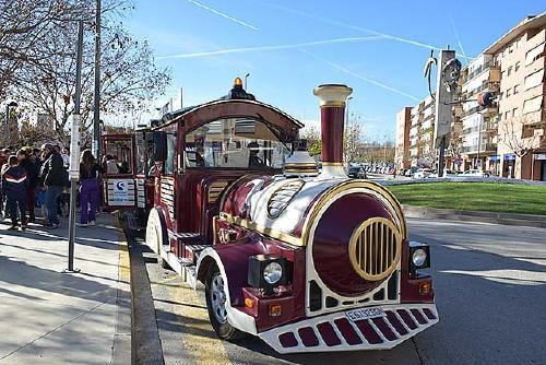 El tren de Nadal d'Els Comerciants registra 2.300 passatgers