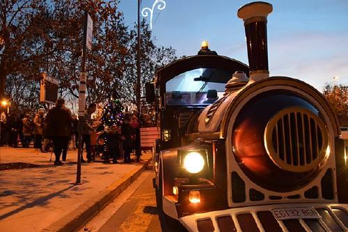 El tren del Nadal d'Els Comerciants recorrerà els carrers de Santa Perpètua