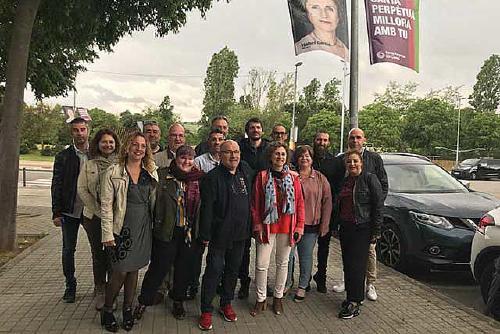 L'eurodiputat Ernest Urtasun dona suport a la candidatura de Santa Perpètua en Comú
