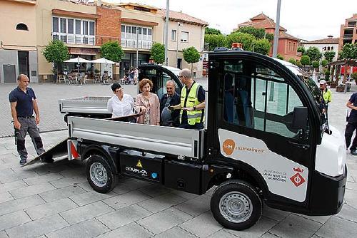 Nous vehicles elèctrics pels Serveis de Manteniment Municipals