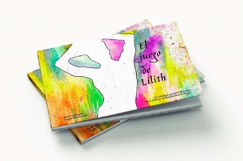 L'artista local Hugo Manzano il·lustra el llibre 'El juego de Lilith'