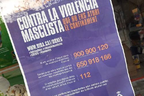 Igualtat se suma a les campanyes contra la violència masclista durant el confinament