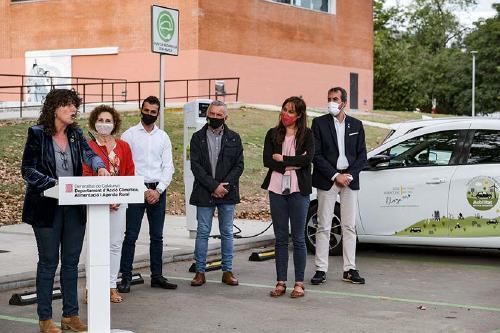 Acció Climàtica anuncia a Santa Perpètua una línia d'ajuts de 65 milions per a mobilitat elèctrica