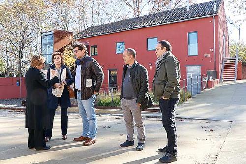El delegat del Govern de la Generalitat s'interessa per diversos projectes i les reivindicacions del municipi