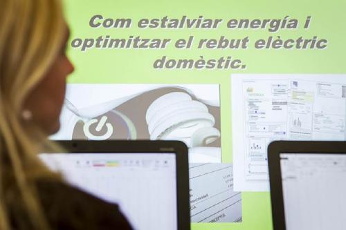 Atencions personalitzades sobre estalvi energètic