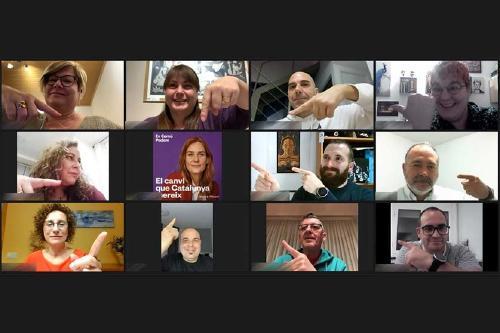 En Comú Podem comença la campanya electoral online a Santa Perpètua