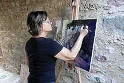 Exposició XXX Concurs de Pintura Ràpida de Santiga