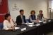 L'alcaldessa de Santa Perpètua presenta als empresaris i emprenedors calderins l'Associació de Municipis de l'Eix de la riera de Caldes