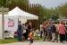 Els treballadors de Valeo, que porten dos mesos de vaga, expliquen la seva situació al parc d'Europa