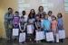 Els guanyadors del Concurs de dibuix infantil del Pla de barris recullen els premis