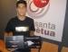 El jove futbolista perpetuenc José González guanya la final europea del Mercurial Speed Test