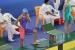 Júlia Luis, tercera amb el seu equip al Campionat d'Espanya infantil de natació