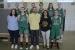 El sènior femení del Club Bàsquet Santa Perpètua celebra amb la seva afició el títol de lliga