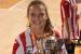 Iris Amaro, campiona de la Copa Catalunya sènior de futbol sala femení