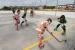 Comencen les obres de la coberta de la pista exterior de l'avinguda de Girona