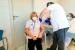 El personal sanitari dels CAPs del municipi rep la primera dosi de la vacuna contra la Covid-19