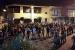 Concentració davant la plaça de la Vila en suport a Jordi Cuixart i Jordi Sánchez