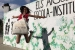 L'AMPA d'Els Aigüerols reivindica la construcció de l'escola-institut amb bosses de roba